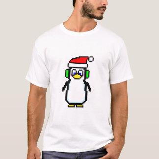 Die T der Männer des Pixel-Pinguin-2,0 T-Shirt