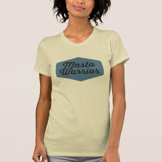 Die T der Masto Kriegers-blauen Frauen T-Shirt