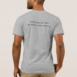 Die T der Pflegehoffnungs-Liebe-Männer T-Shirt