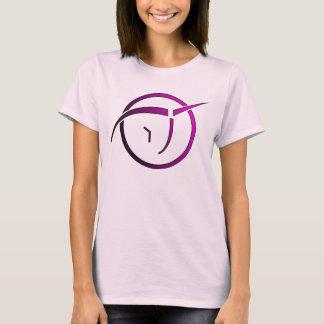 Die T der unsichtbaren rosa Einhornfrauen T-Shirt
