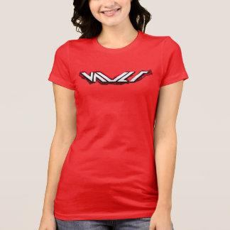 Die T der Wölbungs-Logo-Frauen Hemden