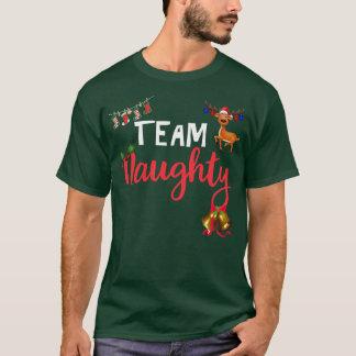 die T-Shirts der lustigen Weihnachtsmänner