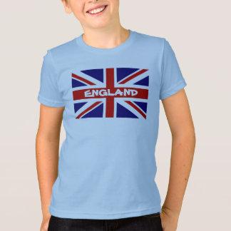 Die T-Shirts des Kindes mit englischer