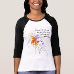 Die T - Shirts Namaste Frauen