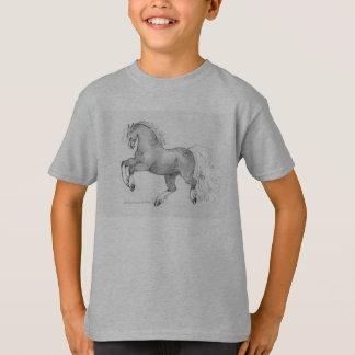 Die tänzelnden Kinder Dapple Pony-PferdeT - Shirt