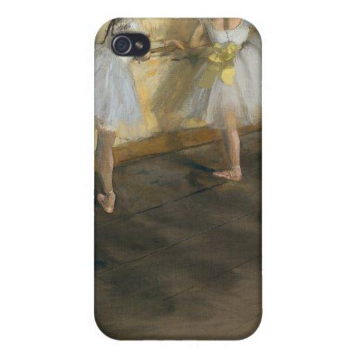 Die Tänzer, die am Bar üben, Edgar entgasen Hülle Fürs iPhone 4