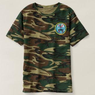 Die Tarnungs-Flecken-Logo-Shirt der Männer T-shirt