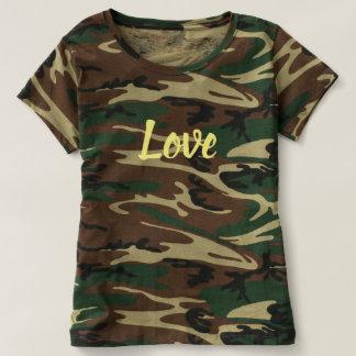 Die Tarnungs-T - Shirt der Liebe-Frauen