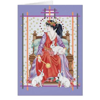 Die Tarot-Kaiserin Karte