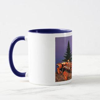 Die Tasse der vierrädrigen Droschke