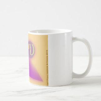 Die Tasse des Buchstabe-U Kaffeetasse