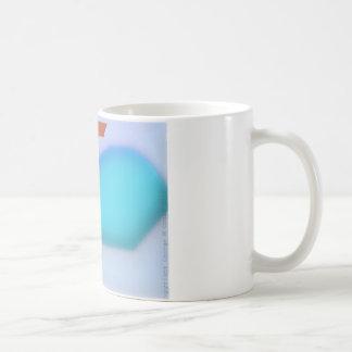 Die Tasse des Buchstabe-W Kaffeetasse