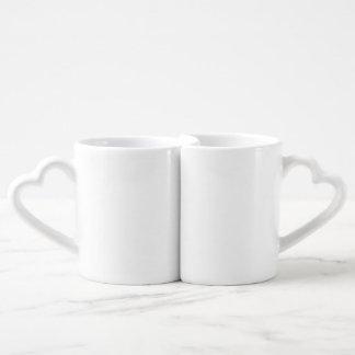 Die Tassen-Set der Liebhaber