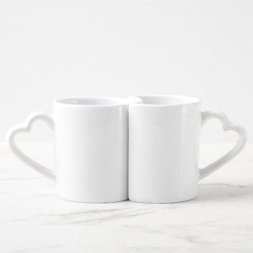 Die Tassen-Set der Liebhaber Herztasse