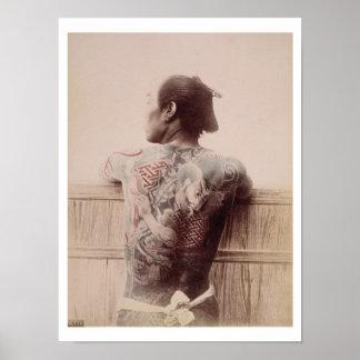 Die Tätowierungen des japanischen Bräutigams, Poster