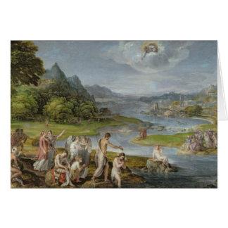 Die Taufe von Christus 2 Karte