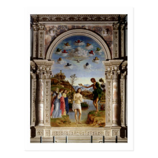 Die Taufe von Christus 2 Postkarten