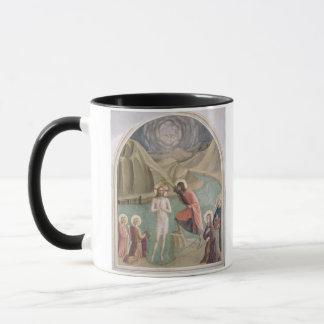 Die Taufe von Christus, c.1438-45 (Fresko) Tasse