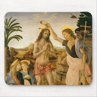 Die Taufe von Christus durch Johannes der Täufer Mousepad