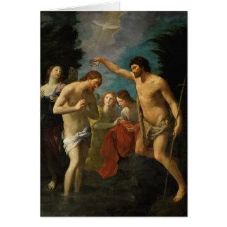 """""""Die Taufe von Christus"""" Grußkarte"""