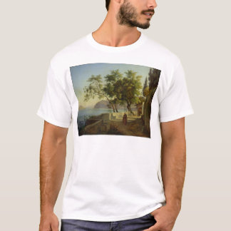 Die Terrasse des Capucins in Sorrent, 1828 T-Shirt