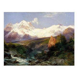 Die Teton Strecke Postkarte