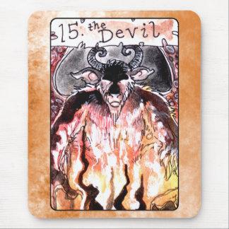 Die Teufel-Tarot-Karte Mousepad