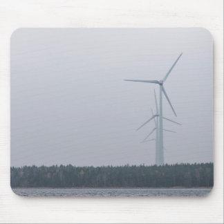 Die themenorientierte Turbine, hohe, weiße Mauspads