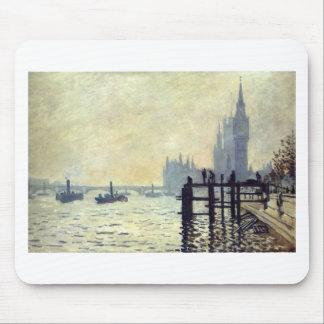 Die Themse unter Westminster durch Claude Monet Mauspads