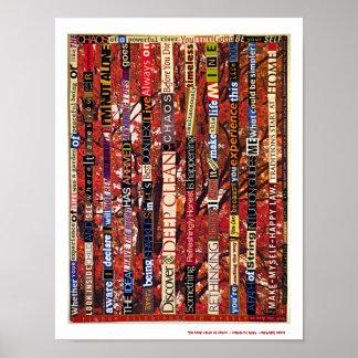 Die tiefen säubern vom Chaos Posterdrucke