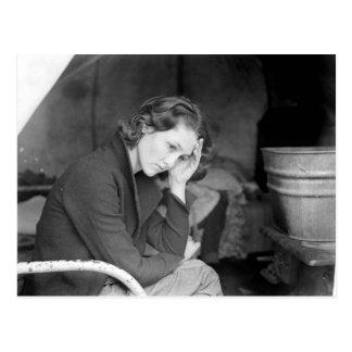 Die Tochter des Kohlen-Bergmannes - 1936 Postkarte
