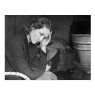 Die Tochter des Kohlenbergmannes - 1936. Postkarte