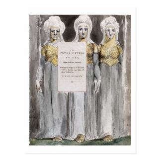 Die tödlichen Schwestern, entwerfen 67 'von den Postkarte