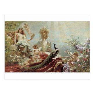 Die Toilette von Venus durch Konstantin Makovsky Postkarte