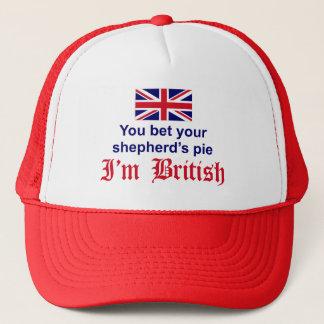Die Torte des britischen Schäfers Truckerkappe