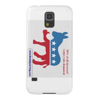 Die tote Abstimmung Demokrat Samsung Galaxy S5 Hülle