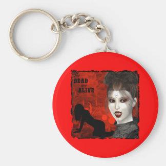 Die Toten sind - Keychain lebendig Standard Runder Schlüsselanhänger