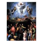 Die transfigurations-schöne Kunst Postkarte
