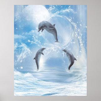 Die Träume der Delphine Poster