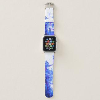 Die Träume des Liebhabers einer Brücke zu überall Apple Watch Armband