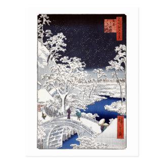 Die Trommel-Brücken-Postkarte Postkarte