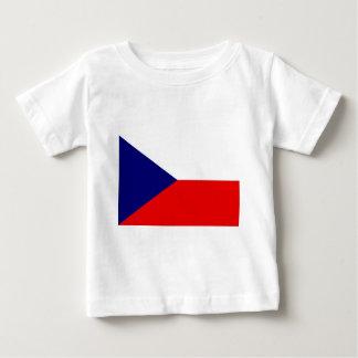 Die Tschechische Republik-Flagge Baby T-shirt