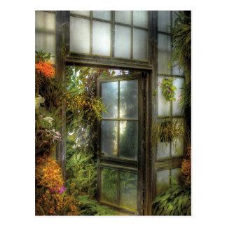 Die Tür zum Paradies Postkarte
