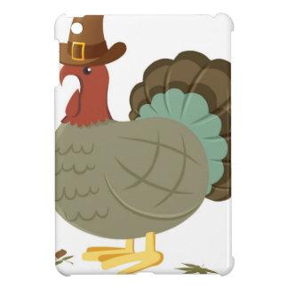 Die Türkei-Fall-Blatt-Herbst-Eichel-Erntedank iPad Mini Hülle