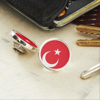 Die Türkei-Flagge Anstecknadel