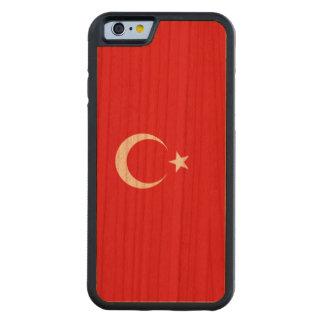 Die Türkei-Flagge Bumper iPhone 6 Hülle Kirsche