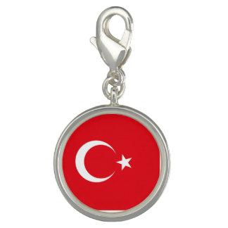 Die Türkei-Flagge Charm