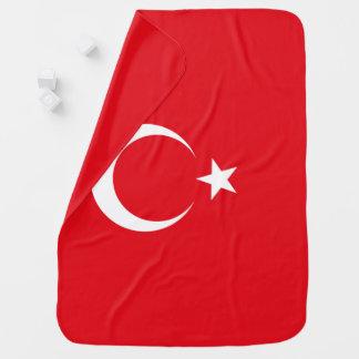 Die Türkei-Flagge Kinderwagendecke