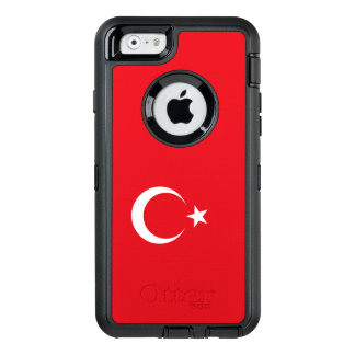 Die Türkei-Flagge OtterBox iPhone 6/6s Hülle
