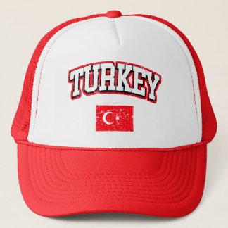 Die Türkei-Flagge Truckerkappe